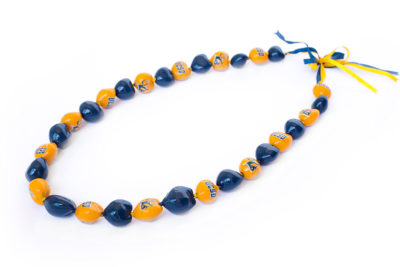 Graduation Day Flowers - UCSD Kukui Nut Necklace 1